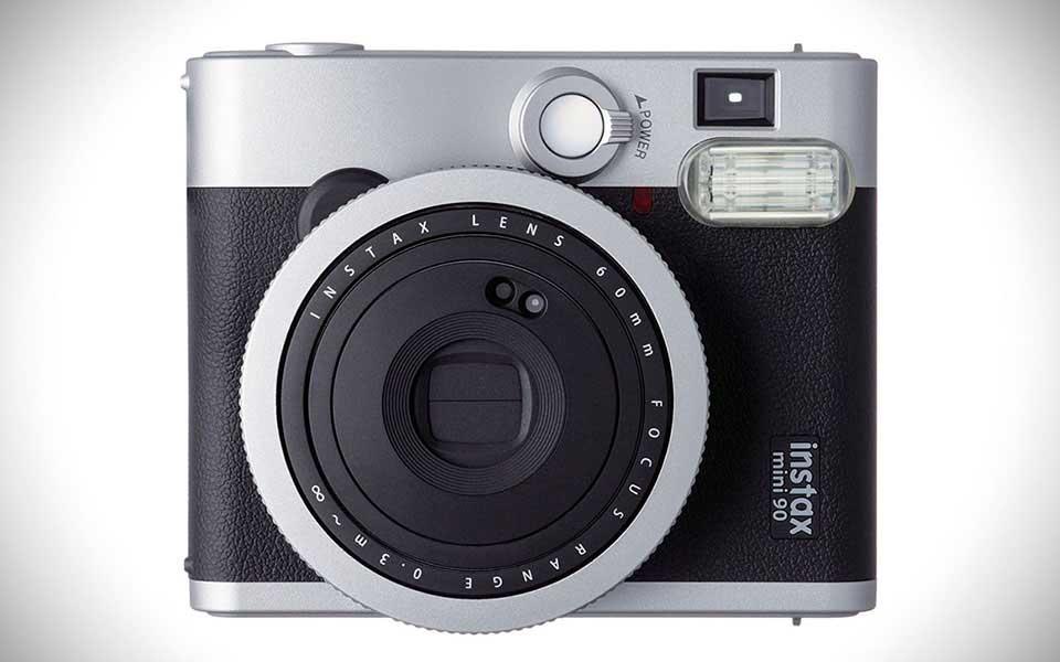 Fujifilm-Instax-Mini-90-Black-Front-Landscape-View