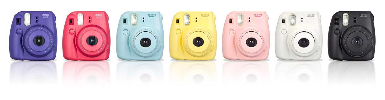 Fujifilm Instax Mini 8 Color Range