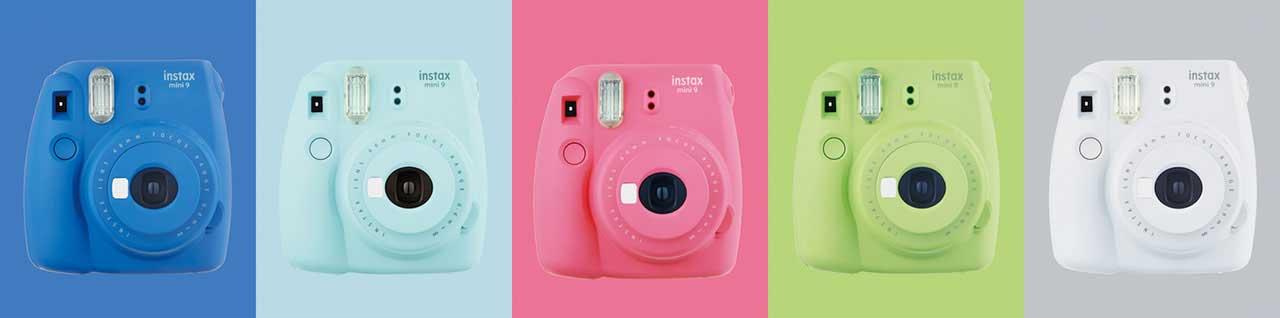 Fujifilm Instax Mini 9 New Color Range