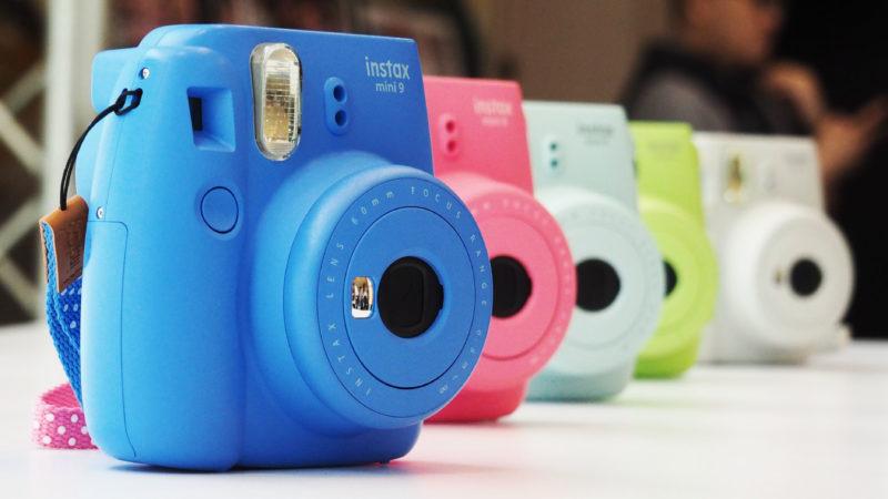 Fujifilm Instax Mini 9 Colors Lineup