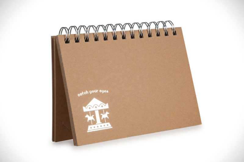CAIUL Basic Instax Mini Picture Album Brown Paper Card