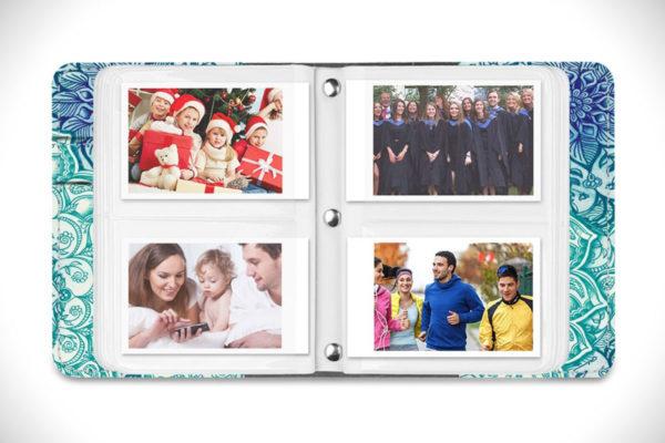 Fintie Fujifilm Instax Mini Pockets Inside Book Photo Album