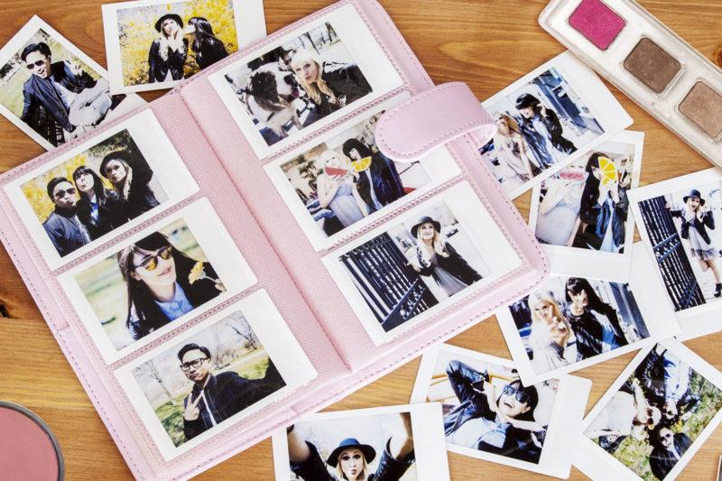FujiFilm Instax Mini Photo Album Pink