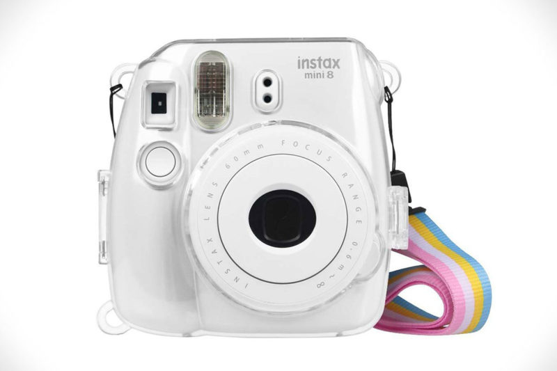Fujifilm Instax Crystal Hard PVC Plastic Clear Protective Case