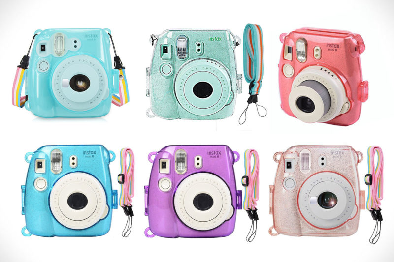 Fujifilm Instax Crystal Hard Shell Protective Case Colors