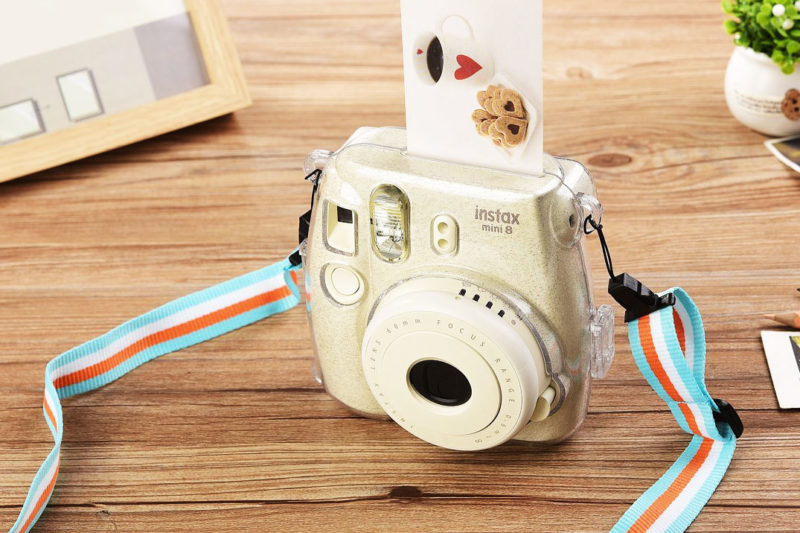 Fujifilm Instax Mini Hard Shell Crystal Case