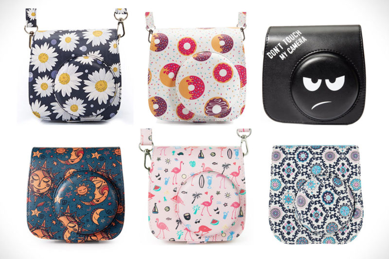 Instax Mini Groovy Compatible Case Cute Cool Pattern Designs