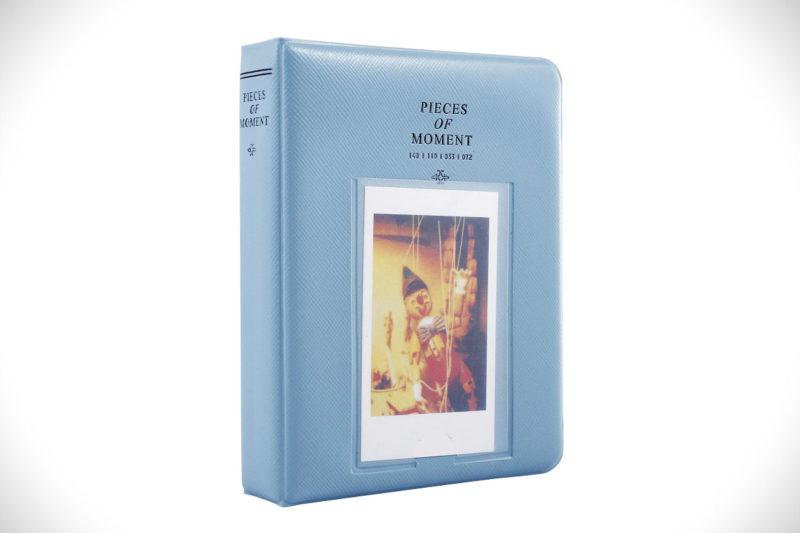 Sprite Science 64 Pockets Instax Mini Photo Album Blue