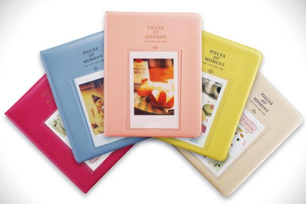 Sprite Science 64 Pockets Instax Mini Photo Album Colors